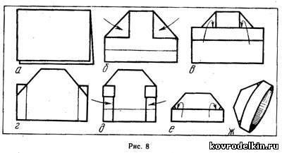 как сделать будёновку из бумаги пошаговая инструкция