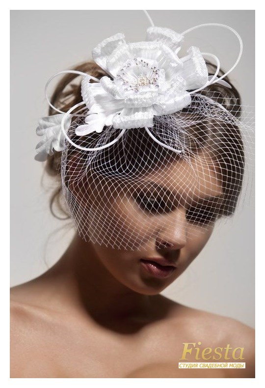 Как сделать шляпку с вуалью своими