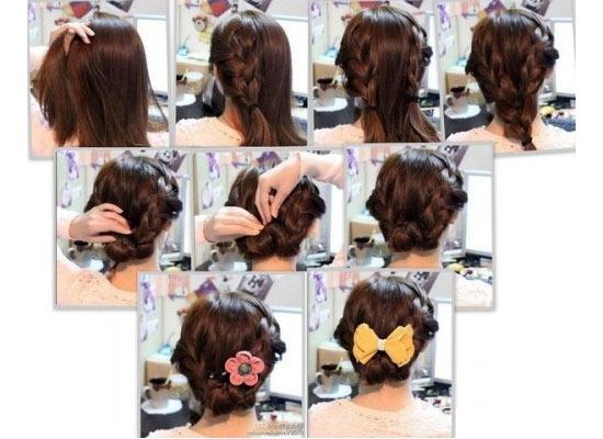 Какую причёску сделать в школу для длинных