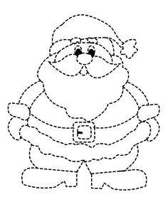 поделки с Дедом Морозом из бумаги своими руками шаблон