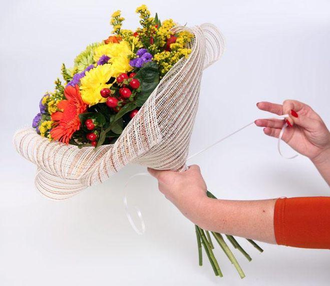 Цветы из фатина своими руками, мастер класс пошагово