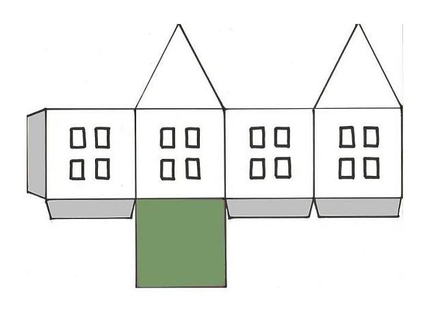 Макеты домов сделать своими руками 6