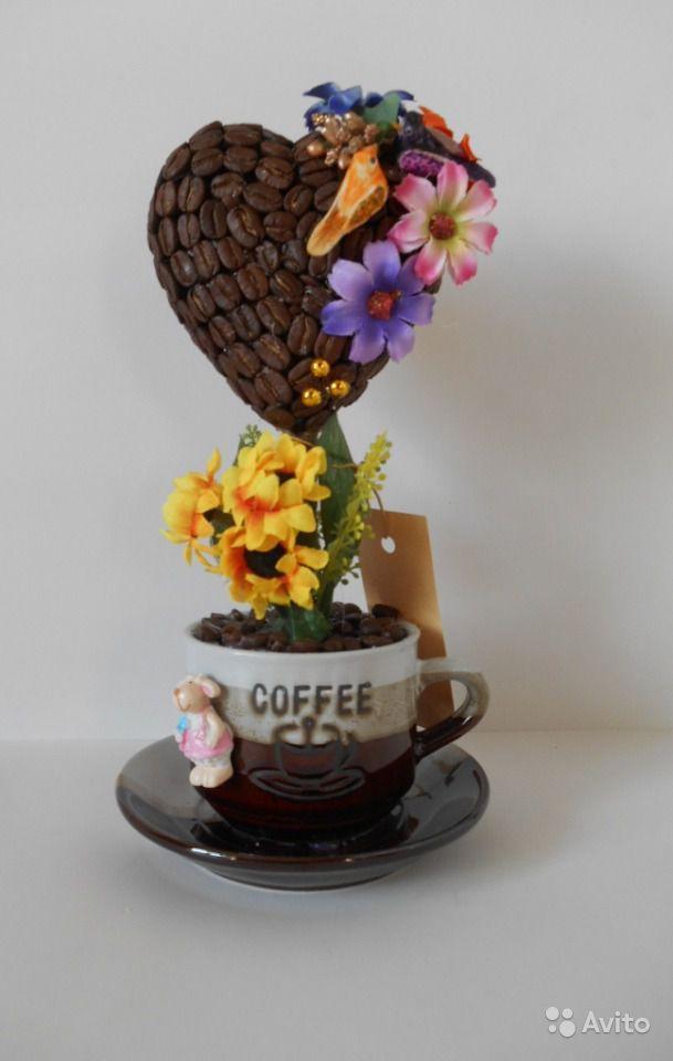 Как сделать кофейное сердце своими руками фото 140