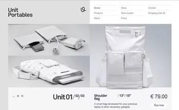 сайт, дизайн, минимализм