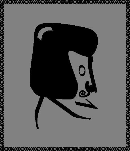 Как нарисовать гоголя поэтапно 5