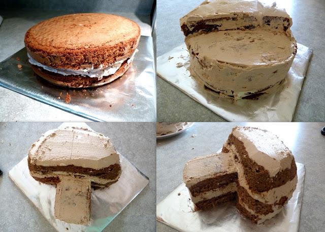 Торт сделанный с фото