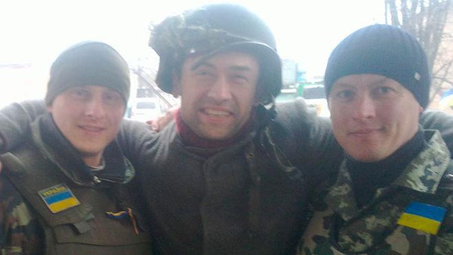 Анатолий Пашинин воюет на Украине в отряде карателей