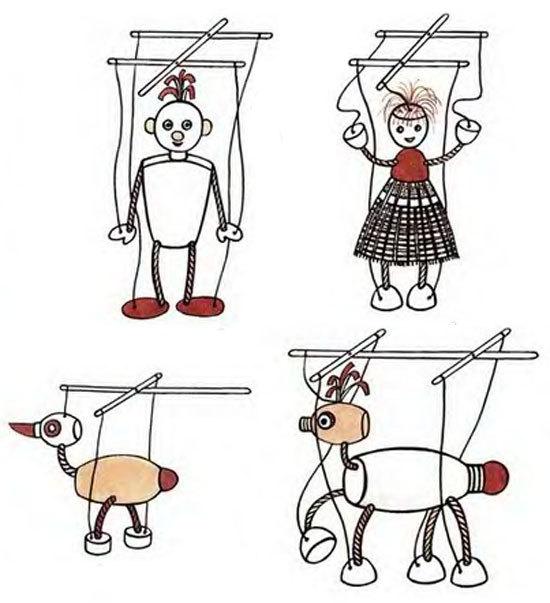 Смотреть как сделать марионетку