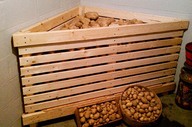 Как сделать закром для картошки 159