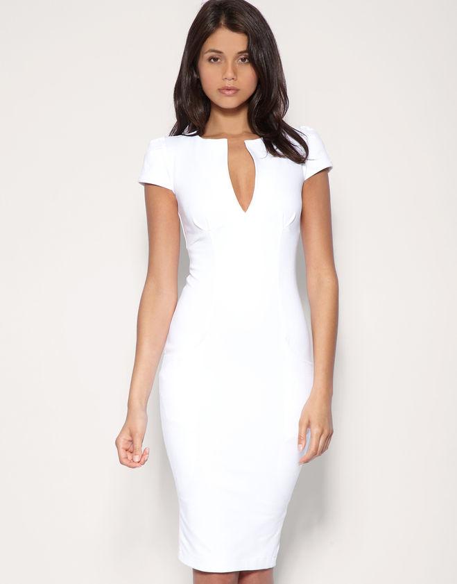Белое платье перебор