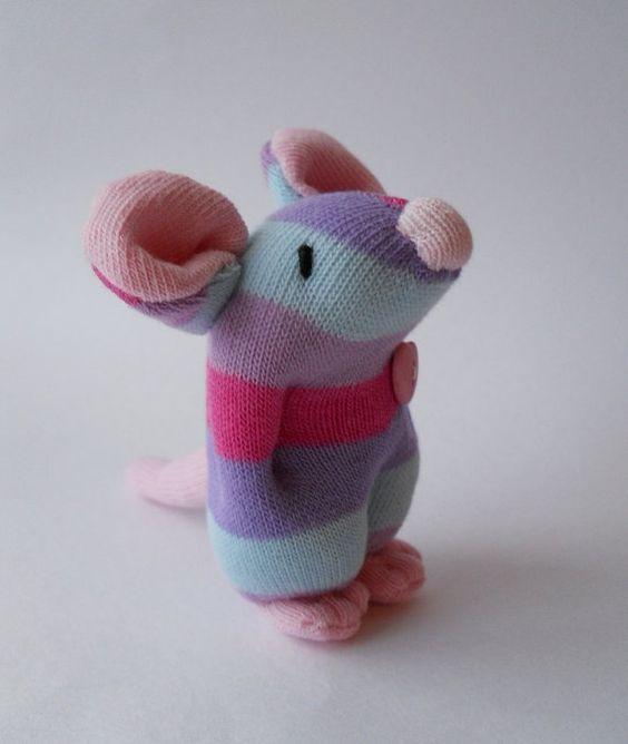 Сделать мышку своими руками из носка своими руками