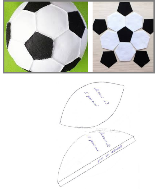 Мяч своими руками подушка 712