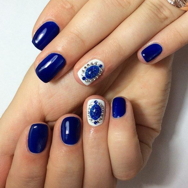 Дизайн ногтей шеллак жидкие камни фото новинки 2017 фото