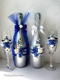 Оформление бутылок на свадьбу своими руками фото