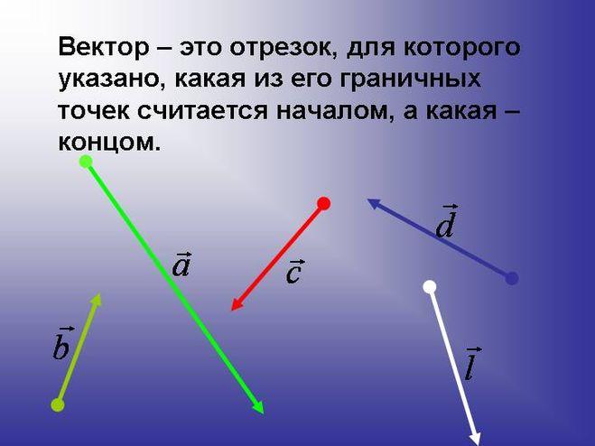 В геометрии мы чаще всего сталкиваемся с прямой, отрезком и лучом