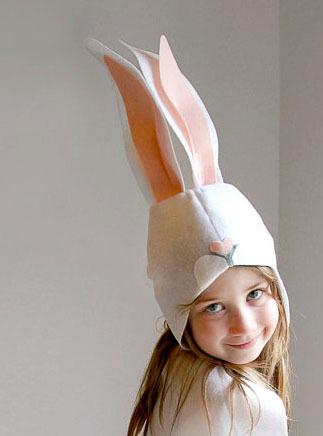 маска Зайца из фетра