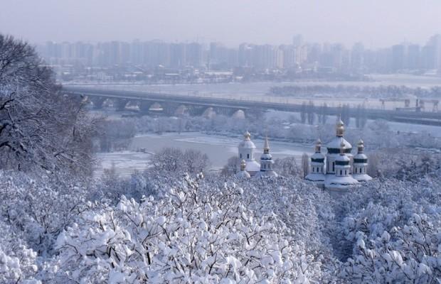 Когда в Киеве выпадет первый снег в 2016?