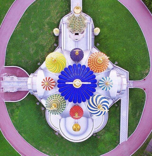 Храм вид сверху