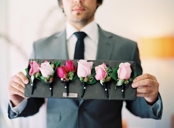 Бутоньерки для невест своими руками
