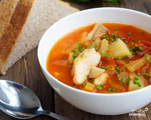 Рыбный суп рецепт классический с фото