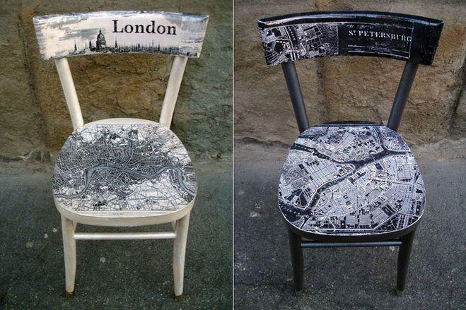 Как отреставрировать старые венские стулья?
