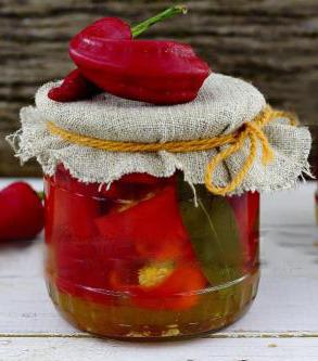 острый перец в меду