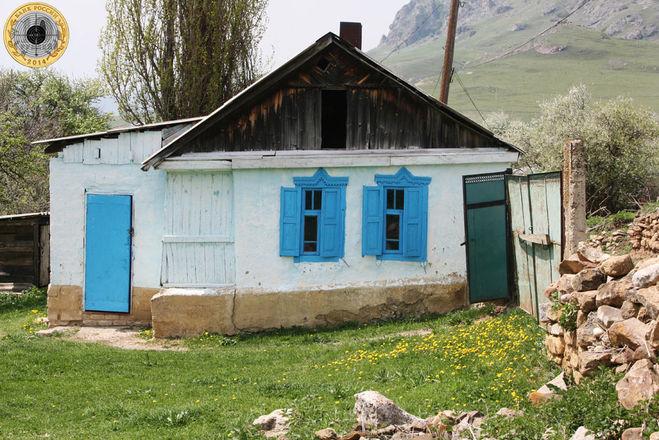 Хата на Северном Кавказе
