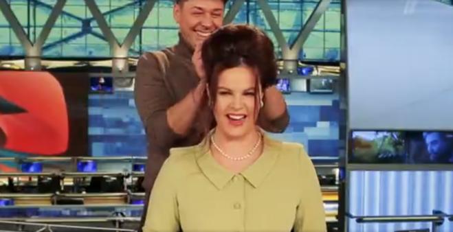 Екатерина Андреева сменила причёску на начёс и локоны
