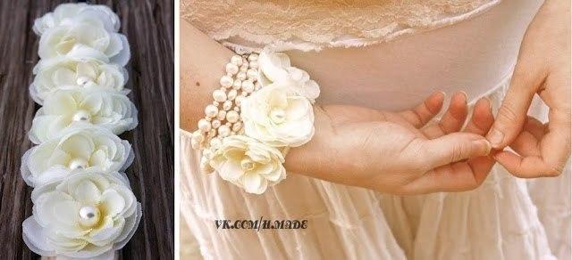 Браслет для невесты своими руками мастер класс