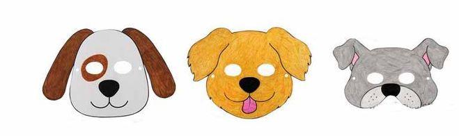 [маска собаки шаблоны