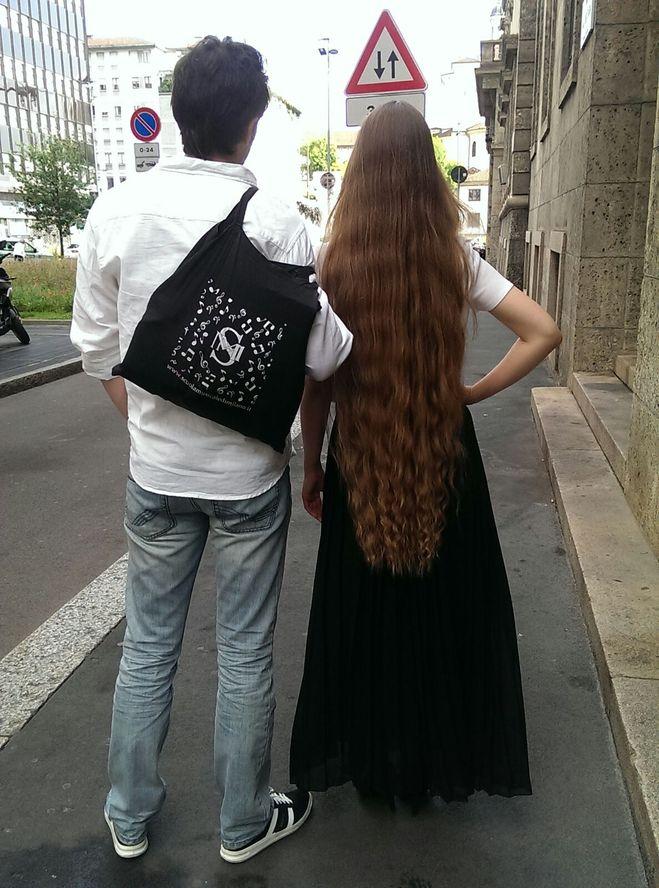 это мои волосы