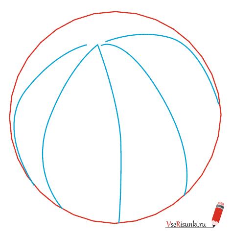 Как нарисовать арбуз карандашом поэтапно?