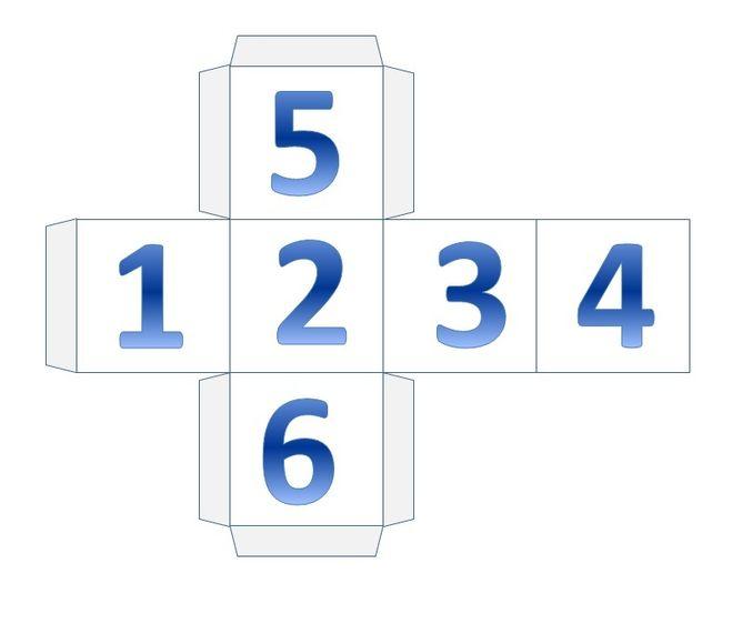 Схема куба распечатать