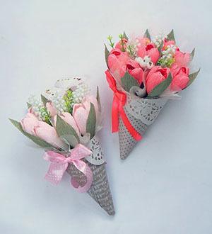 букет тюльпанов из конфет 8 марта