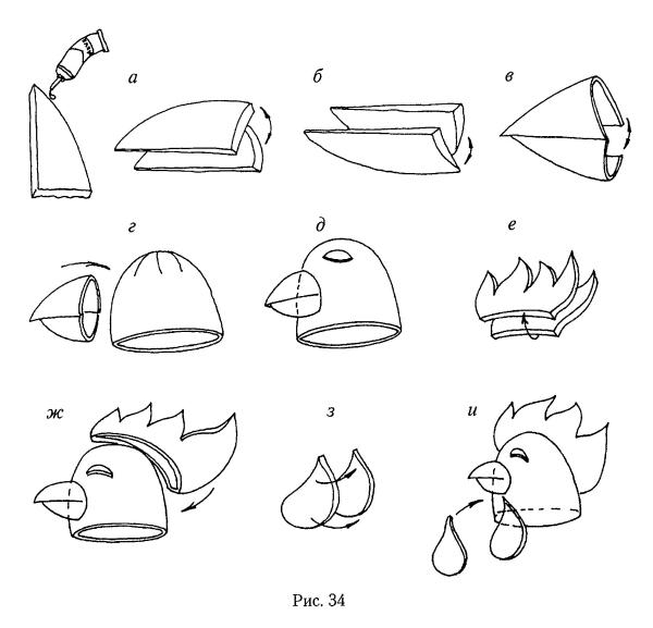 Как сделать птицу из поролона