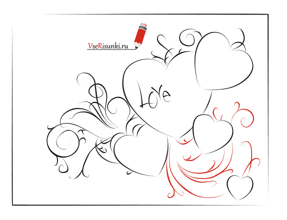 Как нарисовать открытку на день рождения для начинающих