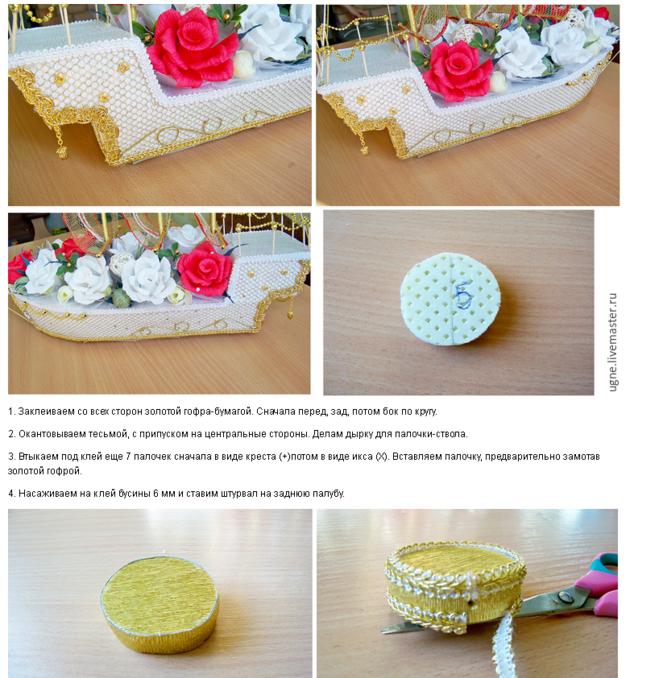 Как сделать свадебный букет своими руками видео фото 460