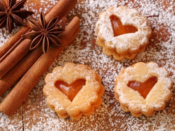 Как сделать печенье сердечки