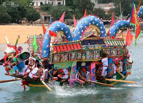 символ лодка в китае