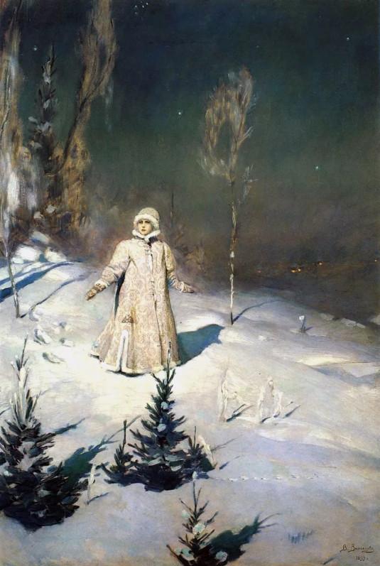 "Сочинение по картине Васнецова ""Снегурочка"" 3 класс и 6 класс"