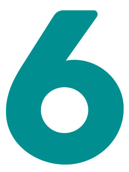 Как сделать объемную цифру 6 из флористической пены шаблон