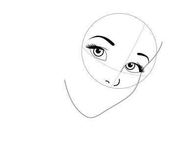как нарисовать Золушку 2