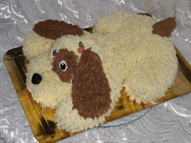 Рецепт торта для собачки