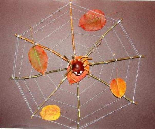 Поделки паутина и пауки