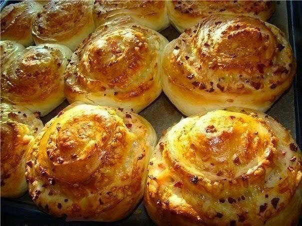 Как сделать тесто для булочек с сыром