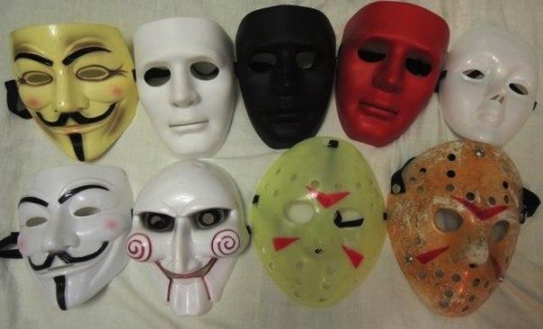 Как сделать маска гая фокса своими руками