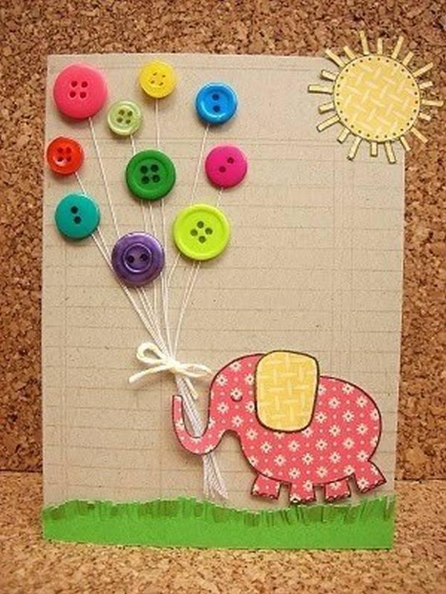 Сделать открытку с ребенком своими руками