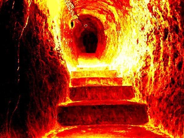 картинка ад огонь