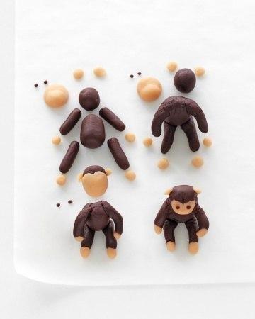 Как сделать обезьяну из пластилина