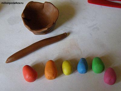 Как сделать поделки из пластилина своими руками